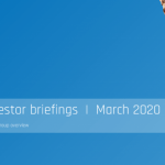 KRM22 Investor Presentation March 2020 – Risk Management in Capital Markets